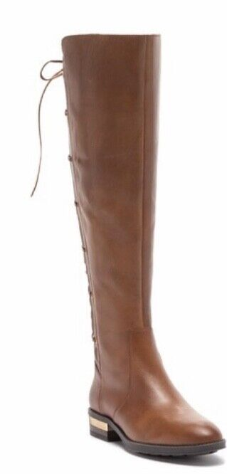 Vince Camuto Palenda Wide Calf Boots 6.5 M Brown