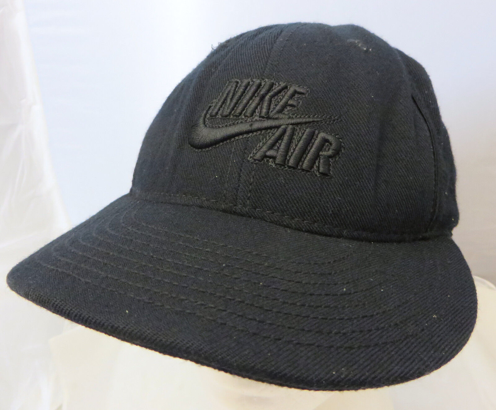 NIKE AIR hat  baseball  cap hat AIR size small 67/8-71/8 black 8b4aa3