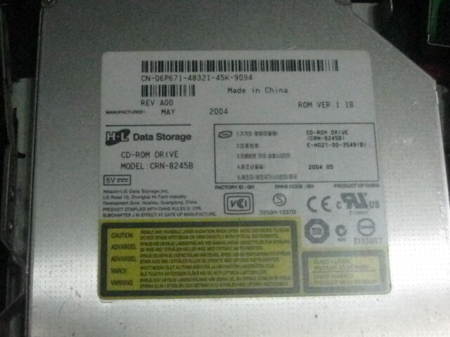 Dell 06P671 6P671 OR SAMSUNG Slim CD-ROM Drive TESTED