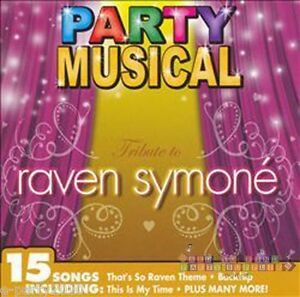 RAVEN-SYMONE-PARTY-MUSICAL-CD-Birthday-Party-Supplies-Dance-That-039-s-So-Raven