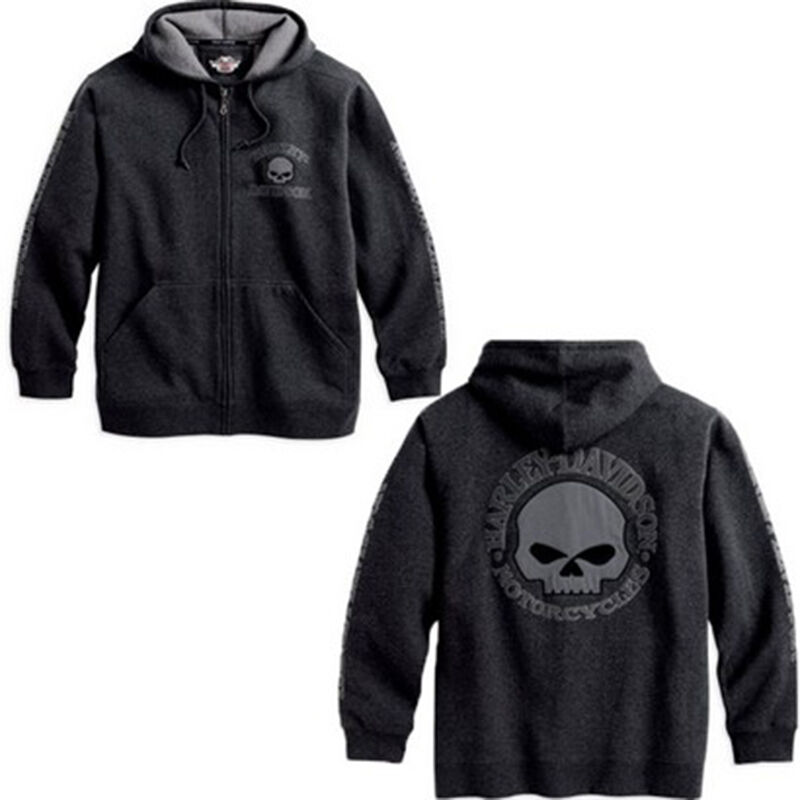 Harley Davidson WILLIE G SKULL Hooded Sweatshirt HOODY SHIRT
