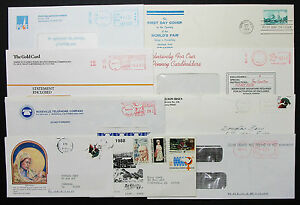 US-Postage-Set-of-9-Stamps-Covers-Letter-Envelope-FDC-Adv-USA-Letter-H-7470