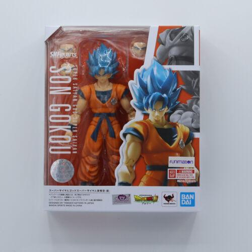 Broly Figure Saiyan God DBS S.H Figuarts Tamashii SSGSS Goku Dragon Ball Super