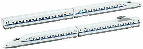 KATO N700A Shinkansen Nozomi N Scale Model Trains 4 Cars Set 10-1174