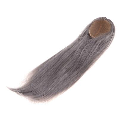 Bob Short Wig Doll Curly Wig Hair For 1:6 BJD// Uncle Dolls Silver Grey