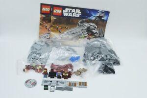 Lego-Set-7961-STAR-WARS-Darth-Maul-039-s-Sith-Infiltrator-avec-ba-Set-W-Instruction