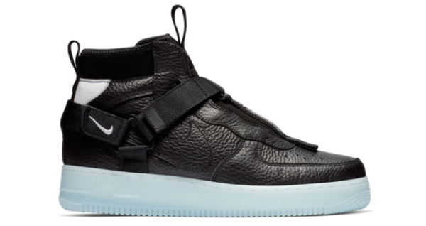 Size 13 - Nike Air Force 1 Mid Utility Black Half Blue 2019 for ...