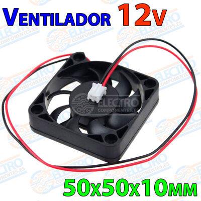 Ventilador 5010 12v Fan 50x50x10mm impresora 3d Arduino Elettronica Brushless