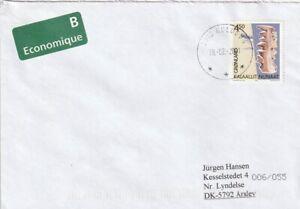 430 // Nr. 356 auf Brief aus 3915 Kulusuk von 2001 - Kulturerbe - Deutschland - 430 // Nr. 356 auf Brief aus 3915 Kulusuk von 2001 - Kulturerbe - Deutschland