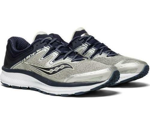NEW Saucony Men's Guide ISO US Size 9.5 2E Wide Grey Navy S20416-1 Running shoe