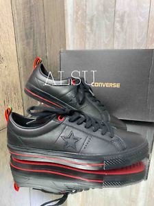 Sneakers-Men-039-s-Converse-156698C-One-Star-Pro-Low-Top-Leather-Black