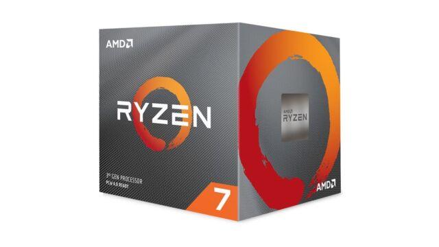 AMD Ryzen 7 3700X CPU 8 Core 16 Thread 32 MB Cache 3.6 GHz AM4 + Wraith Prism