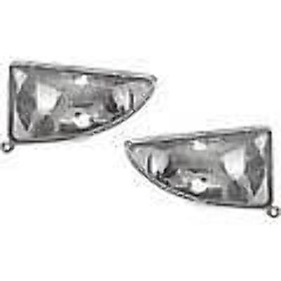 pair except SVT model Left /& Right Fog Lamp Assys w//o bulb 00-04 Ford Focus