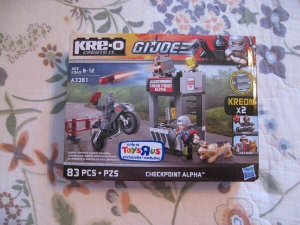 Checkpoint Alpha Firefly Law /& Order KRE-O GI JOE Cobra Kreo NEW