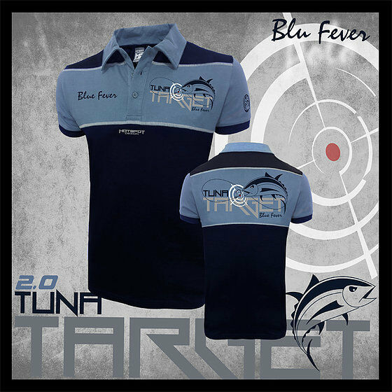 Hotspot Design Polo-Shirt Tuna TARGET 2.0 for anglers  and Sailors  shop online