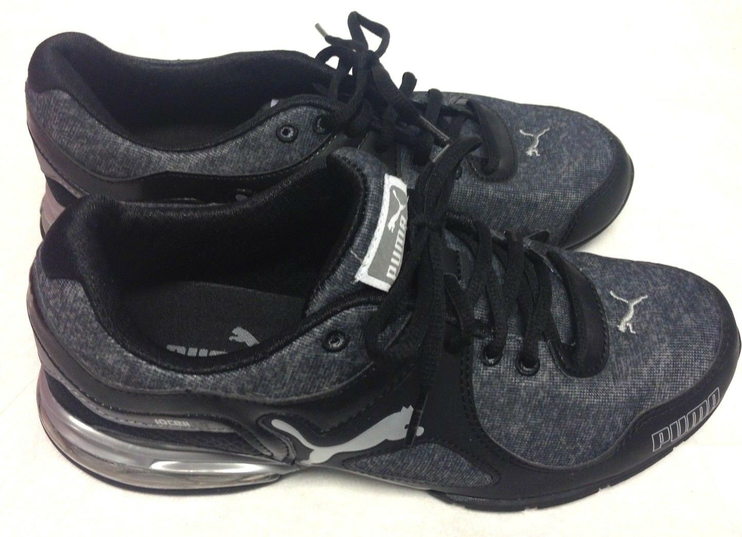 PUMA Women's Cell Riaz Athletic Running Shoe Black/Gray 191429 02 Price reduction Seasonal price cuts, discount benefits