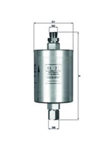 Mahle KL 21 Kraftstofffilter