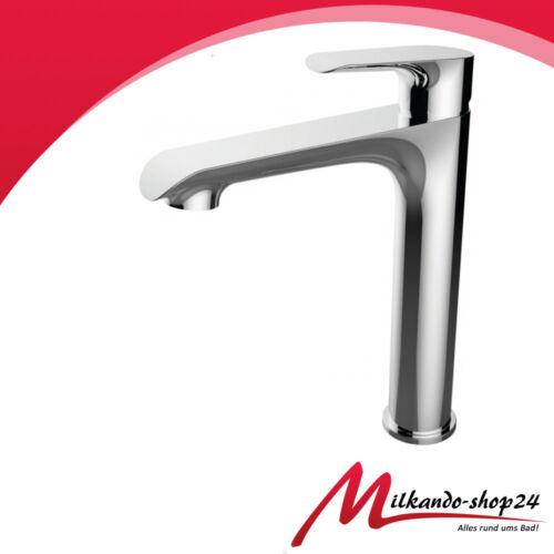 ABLAUFGARNITUR ! Hohe Armatur Waschtisch Waschbecken Einhebelmischer Badarmatur