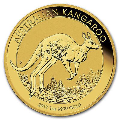 2017 Australia 1 oz Gold Kangaroo Brilliant Uncirculated - SKU #114788