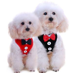FA-Bowtie-Gentleman-Suit-Tuxedo-Harness-Vest-with-Leash-for-Pet-Dog-Puppy-Goodi