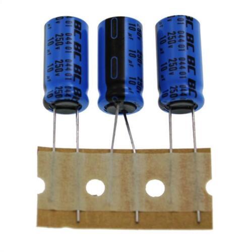 20x Elko condensador radial 10µf 250v 85 ° C; 222204433109; 10uf