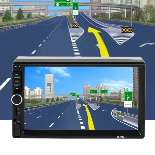 """7/"""" 2Din Touch Screen Car MP5 Player Bluetooth Stereo FM Radio USB//TF AUX In F8G9"""