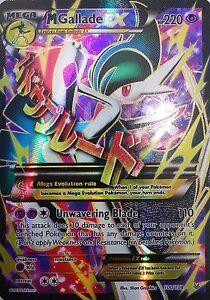 Pokémon XY M Gallade EX 100//108 Mint