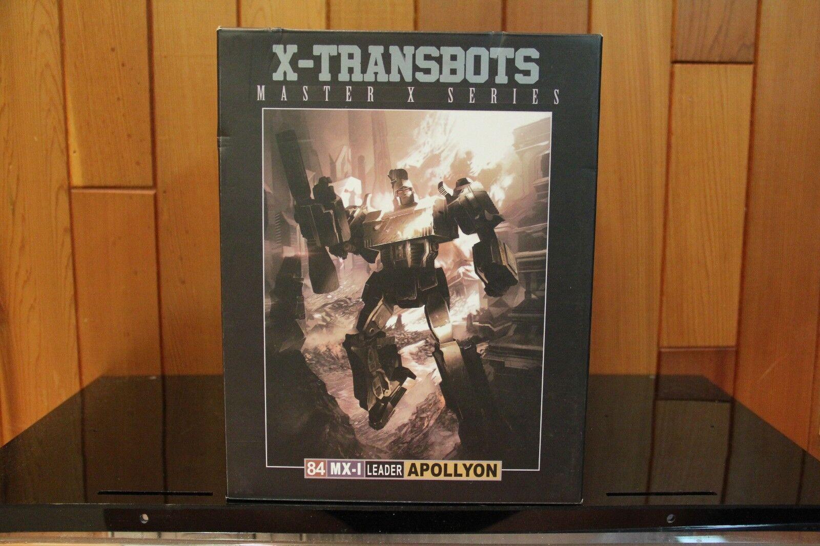 Xtransbots  MXI APOLLYON 2nd Production correre