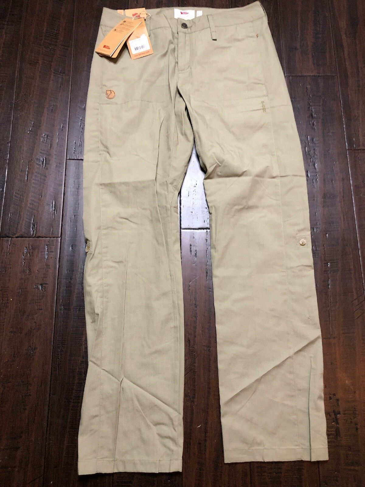"0edf0925 Fjall Raven Abisko Shade Women 89810 Savanna Size 40 US New Trousers ""  nyfnoa7224-Pants"