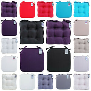 New-Seat-Chair-Pad-Cushion-Dining-Room-Garden-Kitchen-Chair-Cushions-with-Tie-On