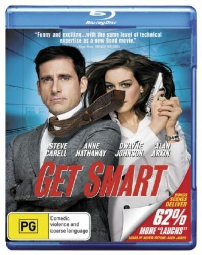 1 of 1 - Get Smart - Blu-ray - NEW+SEALED - fast free post
