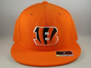 88604581 Details about Cincinnati Bengals NFL Reebok Fitted Hat Cap Size 7 Orange