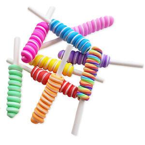 5pcs-Clay-Swirl-Lolly-Stick-Sweet-Cabochon-Decoden-Embellissements-Kawaii-Craft