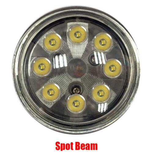 PAR36 24W 8leds Spot Aircraft Led Landing /& Taxi Light Par 36 10-30V DC x2pcs
