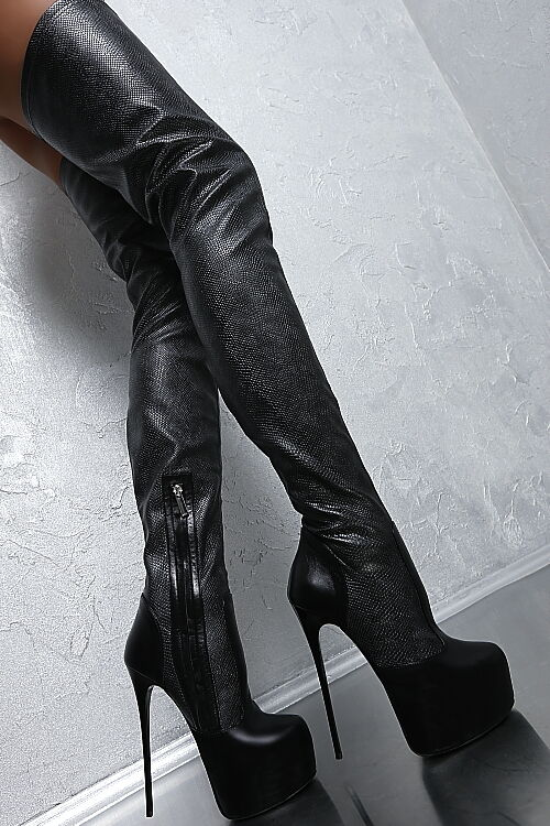 HAND MADE IN ITALY SEXY HIGH HEEL STRETCH STIEFEL Stiefel H40 OVERKNEE STIEFEL STRETCH LEDER 35 42f753
