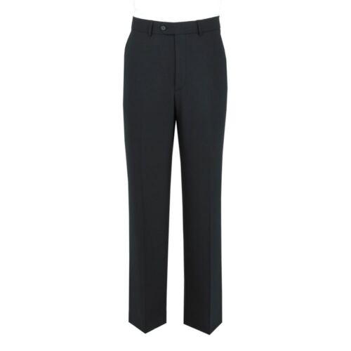 Alto Mens vita 34 Extra 48xl lana in pantaloni Scott frontale l36 Pantalone con misto taglio RAxwtS