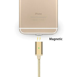 Magnetic-Lightning-Charging-Data-Sync-Cable-For-iPhone-X-XR-XS-Max-8-7-6-SE-iPad