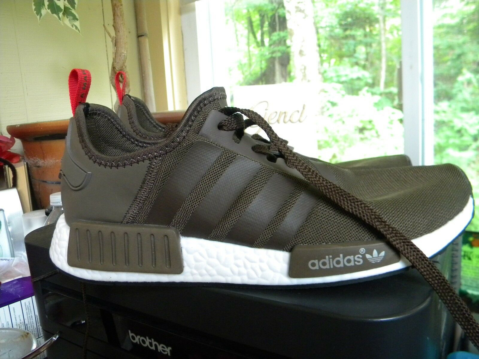 Adidas Die Weltmarke Shoes Mit Den 3 Streifen brown/red/white Athletic Shoes Weltmarke Men's 10 9bb879