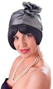 AgréAble Cloche En Verre Années 1920 Chapeau. Argent, Robe Fantaisie Chapeau-afficher Le Titre D'origine
