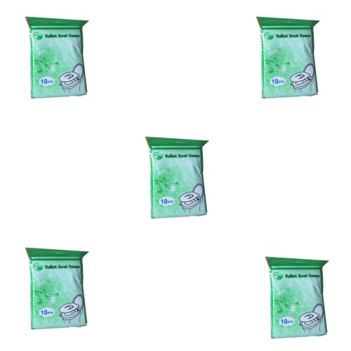 Toilet Seat Paper Covers Protection Portable Hygienic Hotel Travel Hospital UK