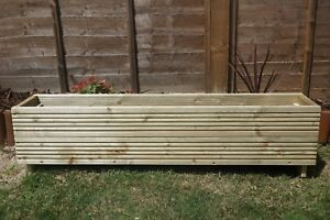 High Standard Wooden Decking Planter Boxes Garden Patio