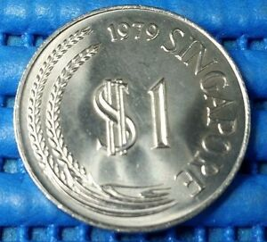 1979-Singapore-1-Stylised-Lion-Coin