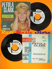 LP 45 7'' PETULA CLARK Monsieur Se mi vuoi amare PROMO france VOGUE cd mc dvd