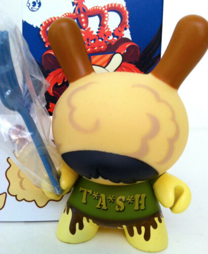 "DUNNY 3/"" UK SERIES YE OLDE ENGLISH TRICLOPS TASH 1//25 KIDROBOT 2009 TOY VINYL"