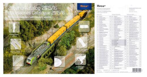 Preisliste 2015//16 H0//H0e ROCO 81784 Zubehörkatalog NEU