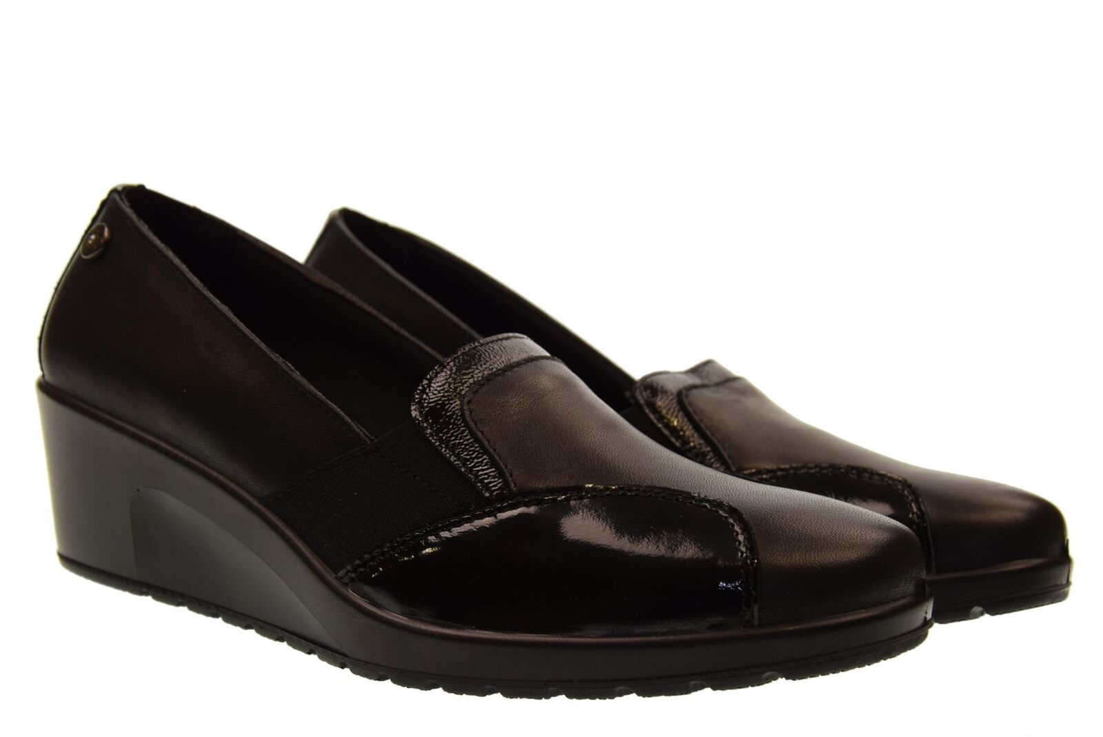 Enval Soft scarpe donna mocassini con zeppa 2257900 A18