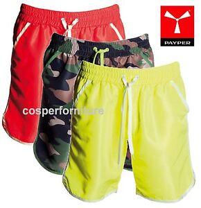 Bermuda-uomo-Payper-Shark-short-leggero-giallo-fluo-mimetico-pantaloncino-sport