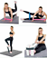 Resistance-Bands-Loop-Set-5-Legs-Exercise-Workout-CrossFit-Fitness-Yoga-Booty thumbnail 3