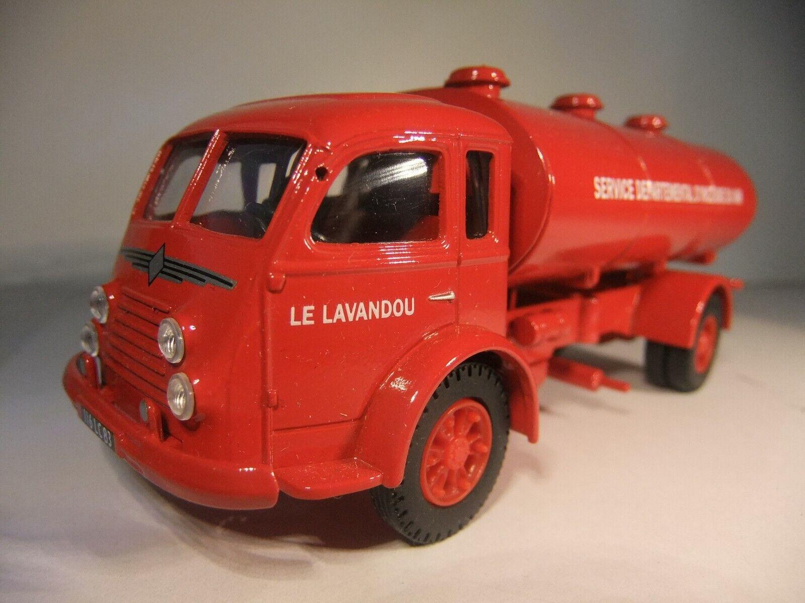 1 50 Corgi 71203 - Renault - French Fire Service - Water Tanker - MIB
