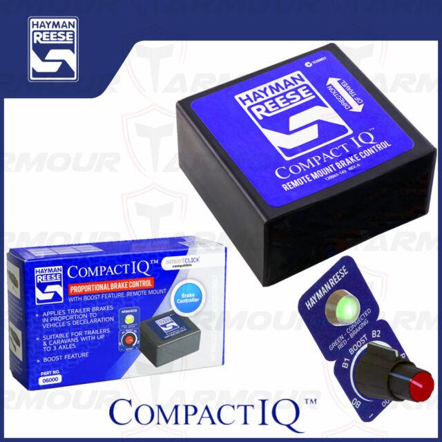 HAYMAN REESE ELECTRIC BRAKE CONTROLLER REMOTE HEAD COMPACT 12V FOR TRAILER CARAV